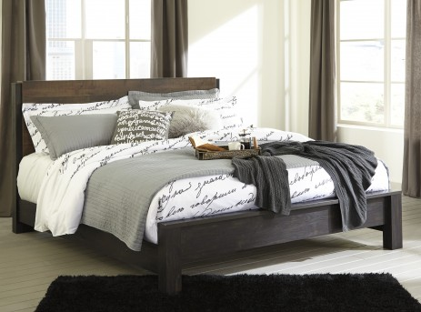 Ashley Windlore King Panel Bed Available Online in Dallas Fort Worth Texas