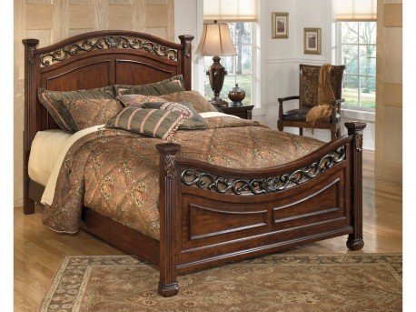 Ashley Leahlyn Queen Panel Bed Available Online in Dallas Fort Worth Texas