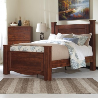 Brittberg Queen Poster Bed Available Online in Dallas Fort Worth Texas
