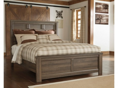 Ashley Juararo King Panel Bed Available Online in Dallas Fort Worth Texas