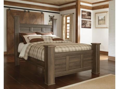 Ashley Juararo Queen Poster Bed Available Online in Dallas Fort Worth Texas