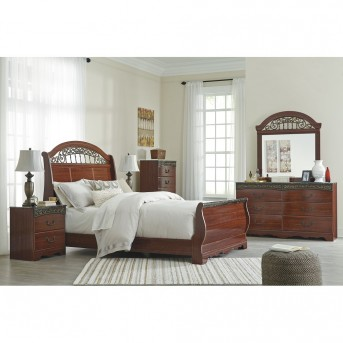 Ashley Fairbrooks Estate 5pc Queen Sleigh Bedroom Group Available Online in Dallas Fort Worth Texas