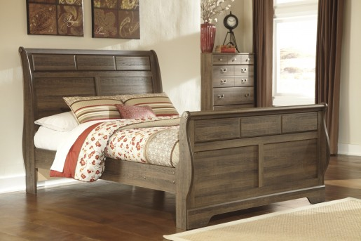 Allymore Queen Sleigh Bed Available Online in Dallas Fort Worth Texas