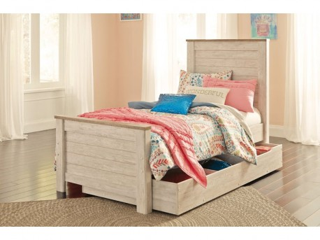 Ashley Willowton Twin Panel Under Storage Bed Available Online in Dallas Fort Worth Texas