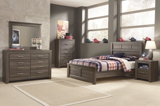 Ashley Juararo 5pc Full Panel Bedroom Group Available Online in Dallas Fort Worth Texas