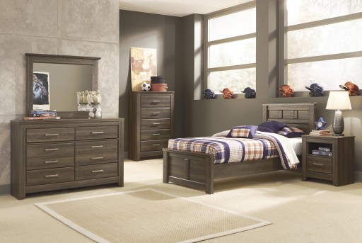 Ashley Juararo 5pc Twin Panel Bedroom Group Available Online in Dallas Fort Worth Texas