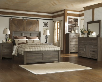Ashley Juararo 5pc Cal King Panel Bedroom Group Available Online in Dallas Fort Worth Texas