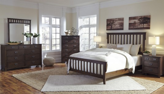Strenton 5pc Queen Panel Bedroom Group Available Online in Dallas Fort Worth Texas