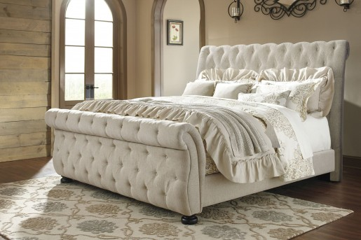 Ashley Willenburg King Upholstered Bed Available Online in Dallas Fort Worth Texas