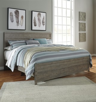 Ashley Culverbach King Panel Bed Available Online in Dallas Fort Worth Texas