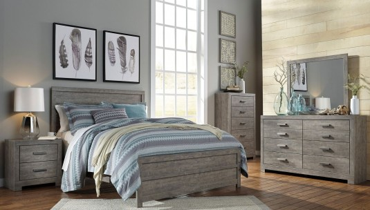 Ashley Culverbach 5pc King Panel Bedroom Group Available Online in Dallas Fort Worth Texas