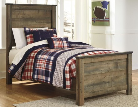 Ashley Trinell Twin Panel Bed Available Online in Dallas Fort Worth Texas