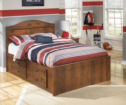 Ashley Barchan Twin Panel Bed With Under Bed Storage Available Online in Dallas Fort Worth Texas