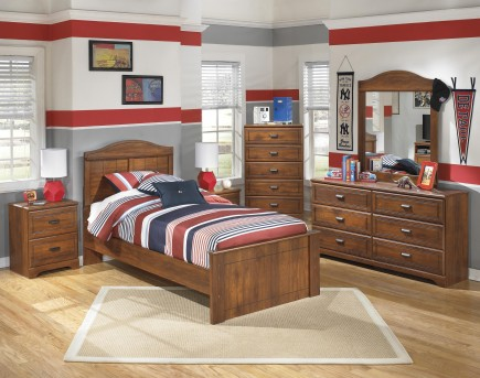 Ashley Barchan 5pc Twin Panel Bedroom Group Available Online in Dallas Fort Worth Texas