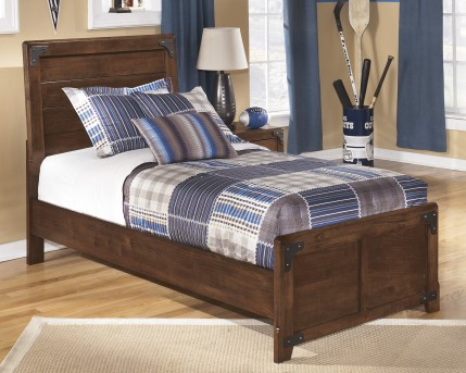 Ashley Delburne Twin Panel Bed Available Online in Dallas Fort Worth Texas