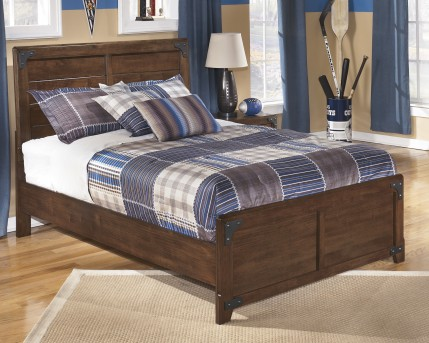 Ashley Delburne Full Panel Bed Available Online in Dallas Fort Worth Texas