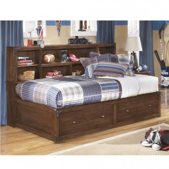 Ashley Delburne Twin Bookcase Storage Bed Available Online in Dallas Fort Worth Texas