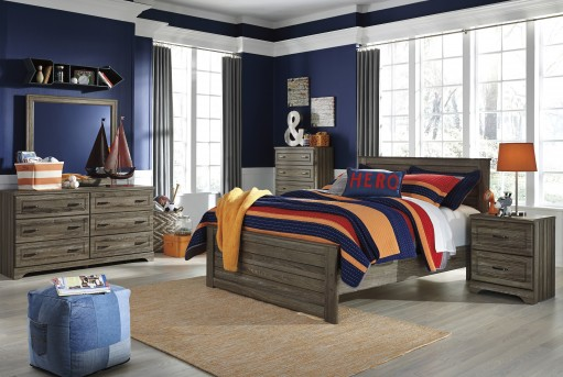 Javarin 5pc Full Panel Bedroom Group Available Online in Dallas Fort Worth Texas