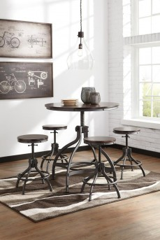 Ashley Odium 5pc Counter Height Dining Table Set Available Online in Dallas Fort Worth Texas