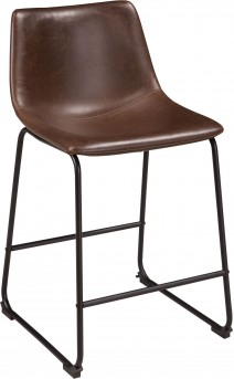 Ashley Centiar Brown Barstool Available Online in Dallas Fort Worth Texas