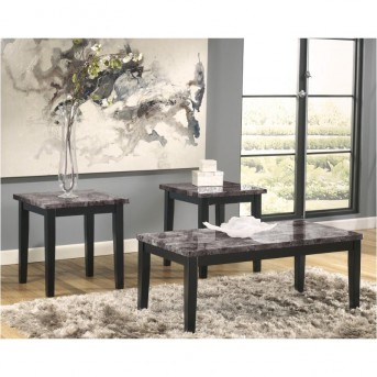 Ashley Maysville 3pc Black Coffee Table Set Available Online in Dallas Fort Worth Texas
