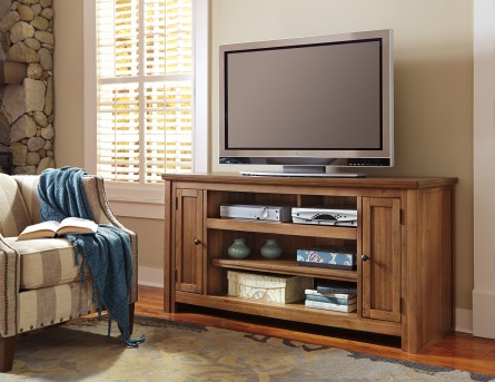 Macibery Light Brown Large TV Stand Available Online in Dallas Fort Worth Texas