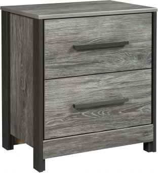 Ashley Cazenfeld Black and Grey Night Stand Available Online in Dallas Fort Worth Texas