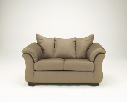 Ashley Darcy Mocha Loveseat Available Online in Dallas Fort Worth Texas