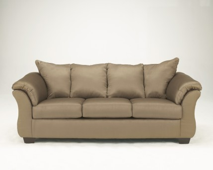 Ashley Darcy Mocha Sofa Available Online in Dallas Fort Worth Texas