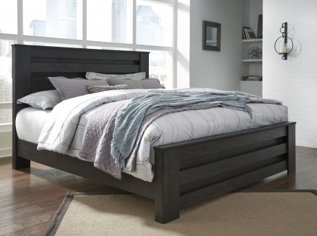 Ashley Brinxton Queen Poster Bed Available Online in Dallas Fort Worth Texas