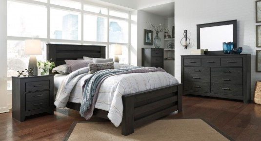 Ashley Brinxton 5pc Queen Poster Bedroom Group Available Online in Dallas Fort Worth Texas