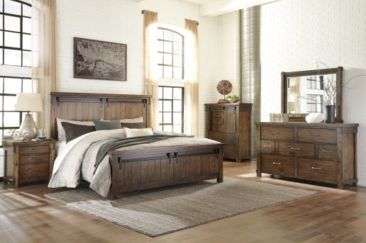 Ashley Lakeleigh 5pc King Panel Bedroom Group Available Online in Dallas Fort Worth Texas