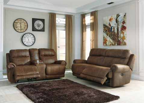 Ashley Austere 2pc Power Sofa & Loveseat Set Available Online in Dallas Fort Worth Texas