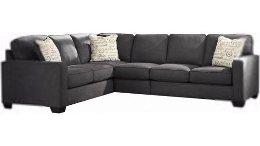 Ashley Alenya 3pc Left Arm Facing Sofa Sectional Available Online in Dallas Fort Worth Texas