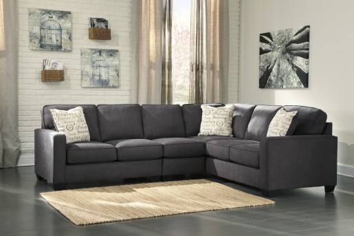Ashley Alenya 3pc Right Arm Facing Sofa Sectional Available Online in Dallas Fort Worth Texas