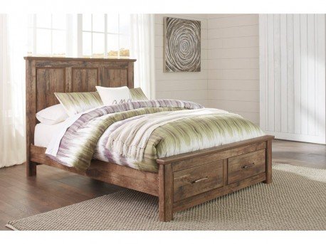 Ashley Blaneville King Storage Panel Bed Available Online in Dallas Fort Worth Texas