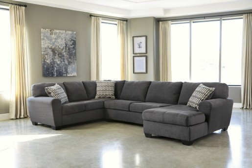 Ashley Sorenton 3pc Right Arm Facing Corner Chaise Sectional Available Online in Dallas Fort Worth Texas