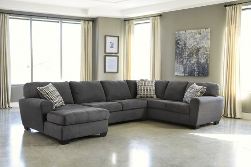 Ashley Sorenton 3pc Left Arm Facing Corner Chaise Sectional Available Online in Dallas Fort Worth Texas