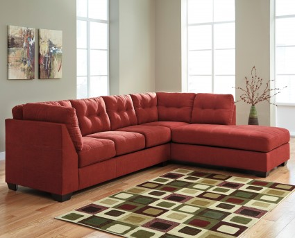 Ashley Maier 2pc Right Arm Facing Chaise Sectional Available Online in Dallas Fort Worth Texas