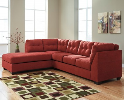 Ashley Maier 2pc Left Arm Facing Chaise Sectional Available Online in Dallas Fort Worth Texas