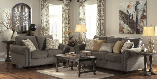 Ashley Emelen 2pc Sofa & Loveseat Set Available Online in Dallas Fort Worth Texas