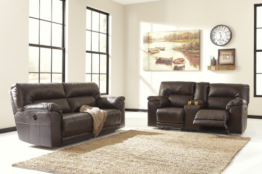 Ashley Barrettsville Durablend 2pc Power Sofa & Loveseat Set Available Online in Dallas Fort Worth Texas