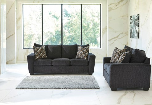 Ashley Wixon 2pc Slate Sofa & Loveseat Set Available Online in Dallas Fort Worth Texas