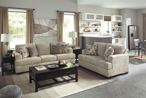 Ashley Barrish 2pc Sofa & Loveseat Set Available Online in Dallas Fort Worth Texas
