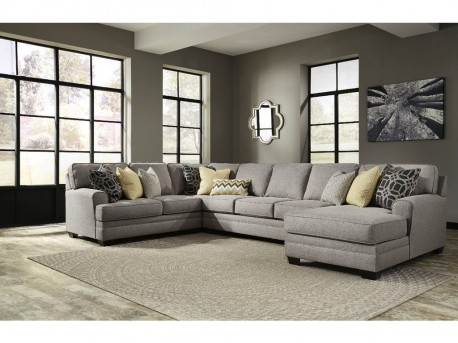 Ashley Cresson 4pc Left Arm Facing Loveseat Sectional Available Online in Dallas Fort Worth Texas