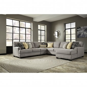 Ashley Cresson 5pc Right Arm Facing Corner Chaise Sectional Available Online in Dallas Fort Worth Texas