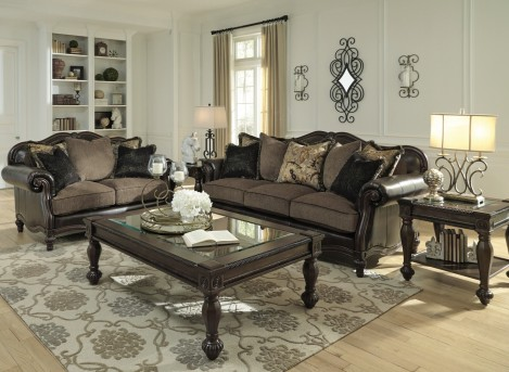 Ashley Winnsboro DuraBlend 2pc Sofa & Loveseat set Available Online in Dallas Fort Worth Texas