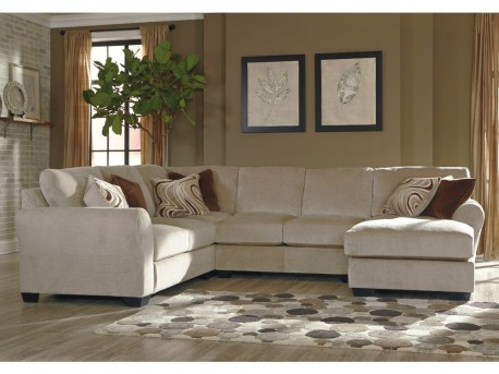 Hazes 4pc Left Arm Facing Loveseat Sectional Available Online in Dallas Fort Worth Texas
