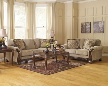 Ashley Lanett 2pc Sofa & Loveseat Set Available Online in Dallas Fort Worth Texas