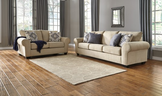 Ashley Denitasse 2pc Sofa & Loveseat Set Available Online in Dallas Fort Worth Texas